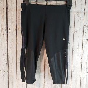 Nike Dry Fit Capril black compression pants Med